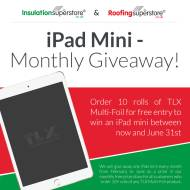 Win an iPad Mini in association with TLX