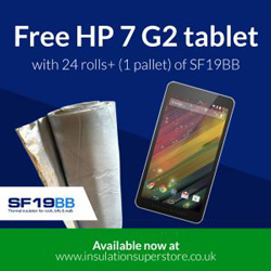 Receive a FREE HP 7 G2 tablet with every pallet of SF19BB you purchase