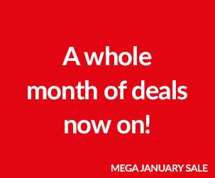 Mega January Sale