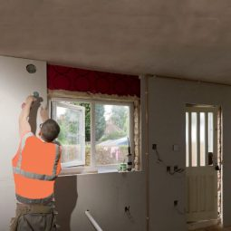 How to install insulated plasterboard