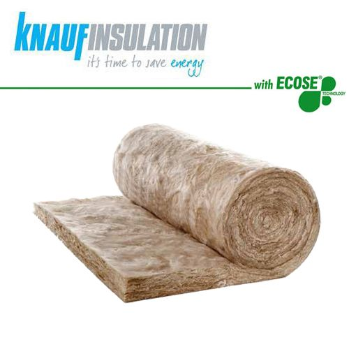 knauf acoustic roll insulation 600mm wide earthwool 50mm. Black Bedroom Furniture Sets. Home Design Ideas