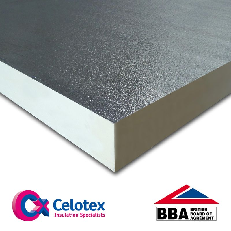 High Performance Insulation Board Fr5150 By Celotex 150mm