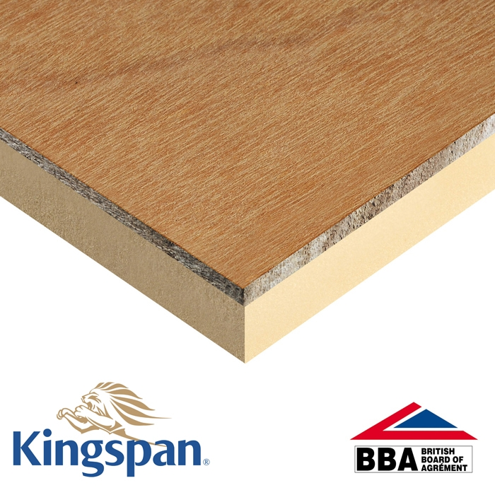 Kingspan TR31 126mm (120mm Insulation + 6mm Ply) - 2.4m x 1.2m | Insulation Superstore®