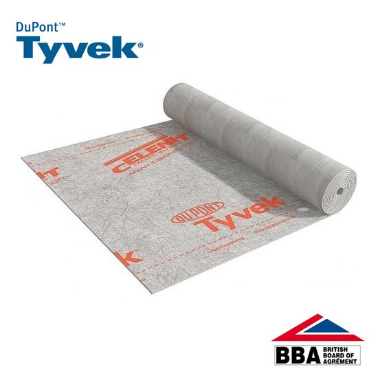 Tyvek Housewrap Breather Membrane From Dupont 100m X 2