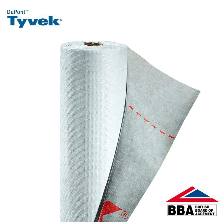 Tyvek Supro Plus Breather Membrane Felt Underlay 50m X 1