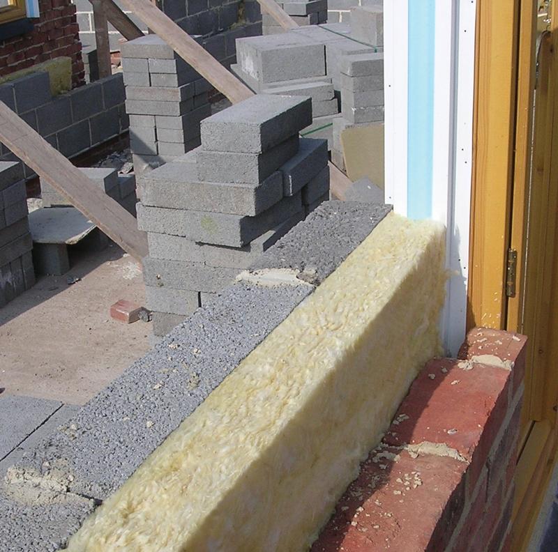Cavity Wall Insulation Materials : Isover cavity wall slab full fill m mm