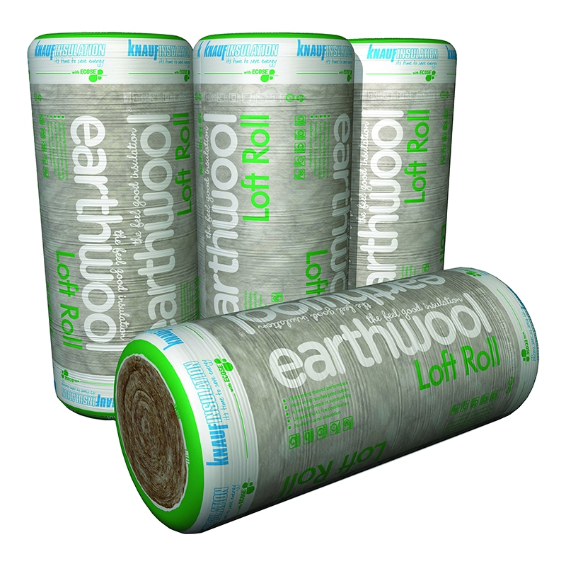 knauf loft roll insulation 44 earthwool combi cut 100mm. Black Bedroom Furniture Sets. Home Design Ideas