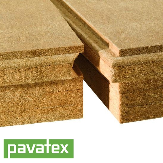 Pavatherm Plus Woodfibre Sarking Board 160mm By Pavatex