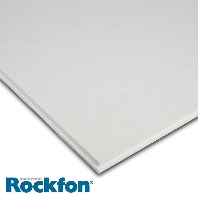 Rockfon Tropic Alaska E24 Tegular Ceiling Tiles 600mm X
