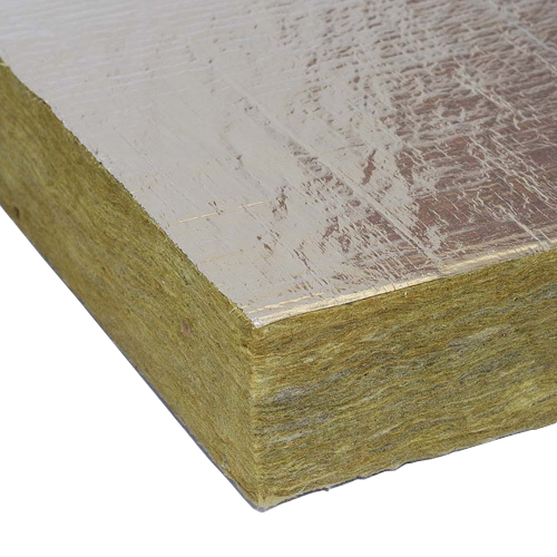 Rockwool rwa45 foil faced acoustic slab in 100mm for Mineral wood insulation