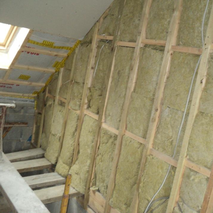 Rockwool flexi slab acoustic insulation x 600mm x for 2 mineral wool insulation