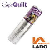 YBS SuperQuilt Multi-layer Foil Insulation Blanket - 1.5m x 10m Roll