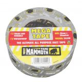 Mega All Purpose Duct Tape in Silver from Everbuild - 50mm x 50m Roll