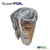 Multi-layer Foil Insulation SF40 by SuperFOIL - 1.5m x 10m Roll