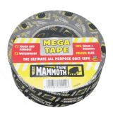 Mega All Purpose Duct Tape in Black from Everbuild - 50mm x 50m Roll