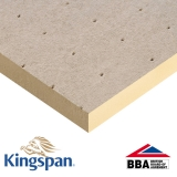 Kingspan Thermaroof TR27 80mm Flat Roof Insulation Board - 1200mm x 1200mm x 4 Sheets