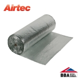 Airtec Double Bubble Double Foil Insulation by YBS - 1.5m x 25m