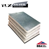 TLX Silver Thinsulex Multifoil Insulation Vapour Barrier - 1.2m x 10m