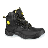 Waterproof Safety Boots in Black FS198 by Amblers - Size 4 to 14