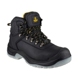 Hiker Style Safety Boots in Black FS199 by Amblers - Size 4 to 14