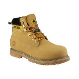 Steel Toe Cap Safety Boots in Honey FS7 by Amblers - Size 4 to 13
