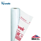 Tyvek Firecurb Housewrap Breather Membrane by DuPont - 50m x 1.5m Roll
