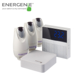 Energenie MiHome Smart Thermostat with Gateway & Radiator Valves