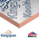 Pitched Roof Insulation K107 Kooltherm by Kingspan 75mm - 11.52m2 Pack