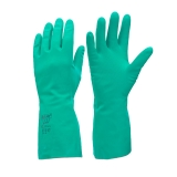 Chemically Resistant Nitrile Gauntlets One Size