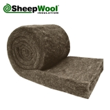 Comfort SheepWool Insulation 100pc Natural 100mm x 570mm - 4.56m2 Pack