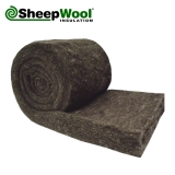 Optimal SheepWool Insulation 100pc Natural 50mm x 380mm - 10.26m2 Pack