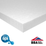 Stylite EPS 250 Polystyrene Floor Insulation Board 50mm - 17.28m2 Pack