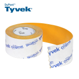 Tyvek Acrylic Single Sided Tape from DuPont - 75mm x 25m Roll