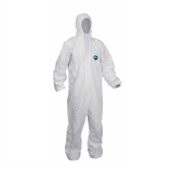Disposable Protective Hooded Suit - Large