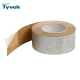 Tyvek Metallised Reflective Tape Single Sided - 75mm x 25m Roll
